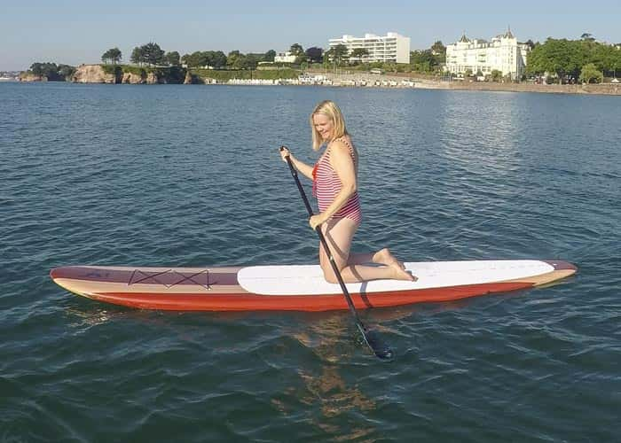 The Tamarin Paddle Board is Perfect as a Yoga Board - Ocean Monkeys Paddle Boards