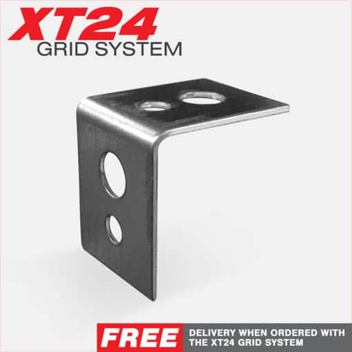 XT24 Suspended Ceiling Grid Angled L-Ceiling Bracket