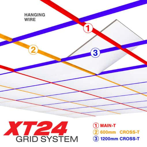 XT24 - Ceiling Grid System - UKSuspended Ceilings