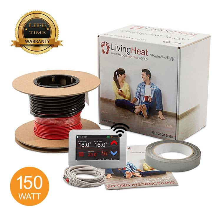 150w/m2 Under Tile Floor Heating Loose Wire Cable Kits