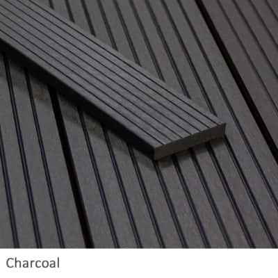 Charcoal Composite Decking Fascia Boards