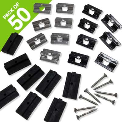 WPC & Stainless Steel Clips For WPC Decking - Tough Decking, Torquay